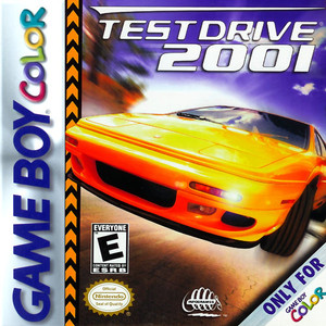 Test Drive 2001 - Game Boy Color Game