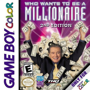 Who Wants To Be A Millionare 2nd Edition - Game Boy Color Game