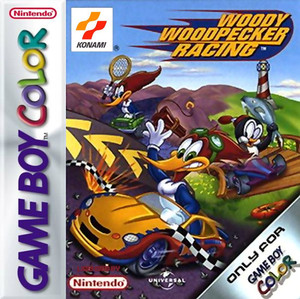 Woody the Woodpecker Racing - Game Boy Color Game