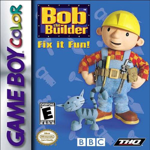 Bob the Builder Fix it Fun! - Game Boy Color Game