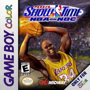 NBA Showtime NBA on NBC - Game Boy Color Game