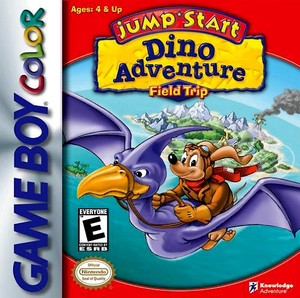 Jump Start Dino Adventure Field Trip - Game Boy Color Game