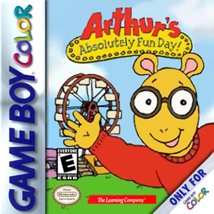 Arthur's Absolutely Fun Day! - Game Boy Color Game