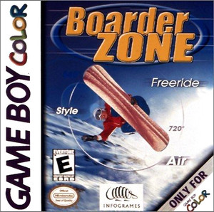 Boarder Zone Freeride - Game Boy Color Game