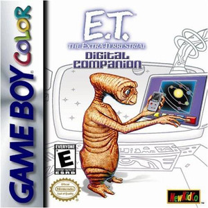 E.T. The Extra Terrestrial Digital Companion - Game Boy Color Game