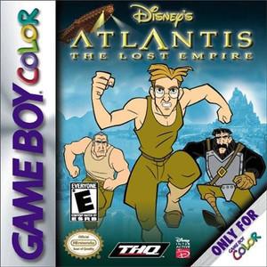 Atlantis the Lost Empire, Disney's - Game Boy Color Game