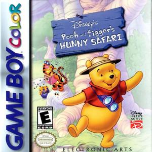 Pooh and Tigger's Hunny Safari - Game Boy Color Game