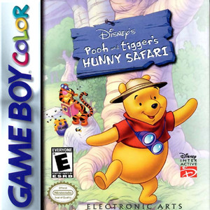 Pooh and Tigger's Hunny Safari - Game Boy Color Game