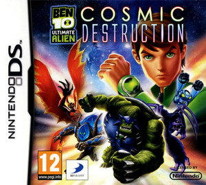 Ben 10 Ultimate Alien Cosmic Destruction - DS Game
