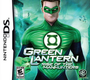 Green Lantern Rise of the Manhunters - DS Game