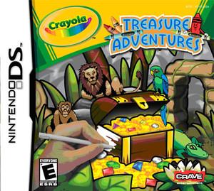 Crayola Treasure Adventure - DS Game