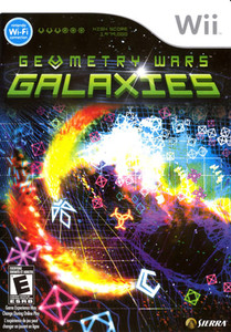 Geometry Wars Galaxies - Wii Game