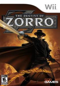 Destiny of Zorro, The - Wii Game