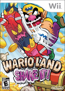 Wario Land Shake It! - Wii Game