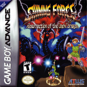 Shining Force: Resurrection of the Dark Dragon - Game Boy Advance Game