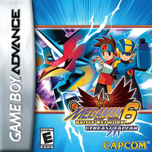 Mega Man Battle Network 6 Cybeast Falzar - Game Boy Advance Game
