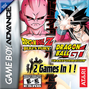 Dragon Ball Z Buu's Fury & Dragon Ball GT: Transformation - Game Boy Advance Game