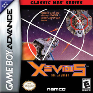 Xevious Classic Series - Game Boy Advance Game