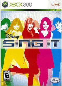 Sing It, Disney - Xbox 360 Game
