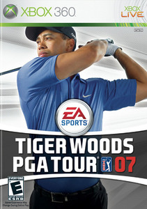 Tiger Woods PGA Tour 07 - Xbox 360 Game