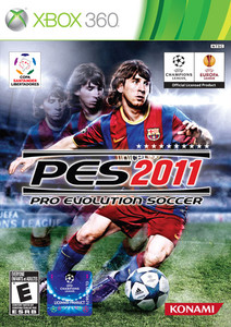 Pro Evolution Soccer 2011 - Xbox 360 Game