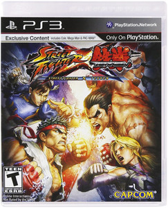 Street Fighter x Tekken - PS3 Game