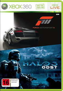 Forza Motorspot 3 & Halo 3 ODST - Xbox 360 Game