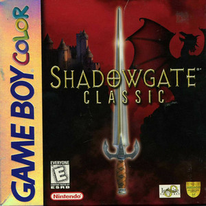 Shadowgate Classic - Game Boy Color Game