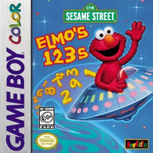 Elmo's 123s - Game Boy Color Game