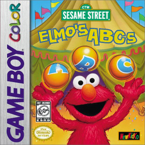 Elmo's ABCs - Game Boy Color Game