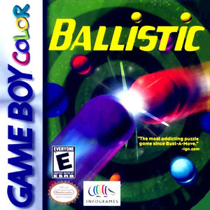 Ballistic - Game Boy Color Game