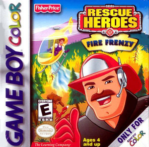 Rescue Heroes Fire Frenzy - Game Boy Color Game