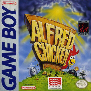 Alfred Chicken - Game Boy Game