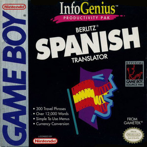 Spanish Translator, InfoGenius - Game Boy Game
