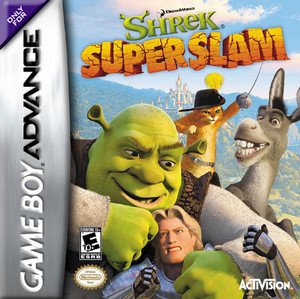 Shrek Superslam - Game Boy Advance Game