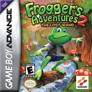 Froggers Adventures 2 Lost Wand - Game Boy Advance Game