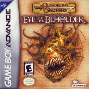 Dungeons & Dragons Eye of the Beholder - Game Boy Advance Game