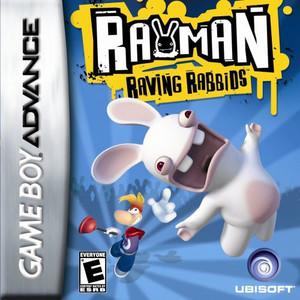 Rayman Raving Rabbids - Game Boy Advance Game