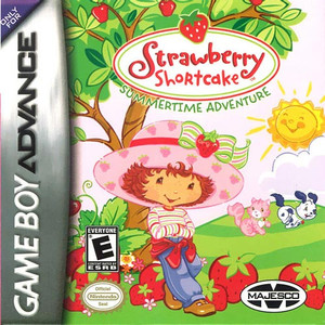 Strawberry Shortcake Summertime Adventure - Game Boy Advance Game