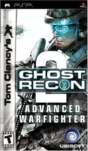 Ghost Recon Advanced Warfighter 2 - PSP Game