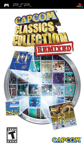 Capcom Classics Collection Remixed - PSP Game