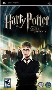 Harry Potter and the Order of the Phoenix - PSP Game