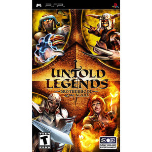 Untold Legends Brotherhood of the Blade - PSP Game