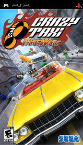 Crazy Taxi Fare Wars - PSP Game