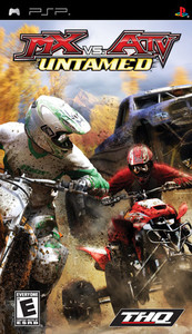 MX vs ATV Untamed - PSP Game