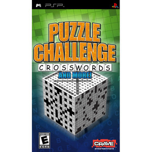 Puzzle Challenge Crosswords - PSP Game