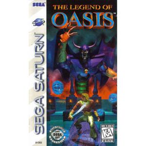 Legend of Oasis - Saturn Game