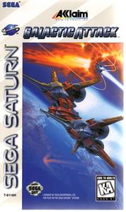 Galactic Attack - Saturn Game