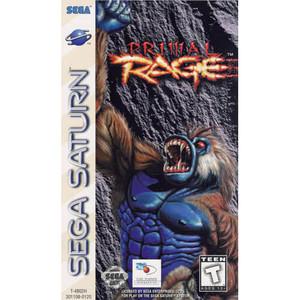 Primal Rage - Saturn Game