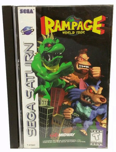Rampage World Tour - Saturn Game
